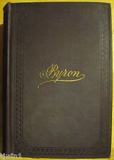 BYRON'S COMPLETE WORKS THE POEMS AND DRAMAS 1896 REPRINTED FROM THE ORIGINAL ED