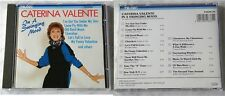 CATERINA VALENTE In A Swinging Mood .. 1987 Teldec-CD TOP