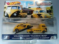 Volkswagen BEETLE BUG T1 PICKUP Moon TEAM TRANSPORT CAR CULTURE HOT WHEELS 2020