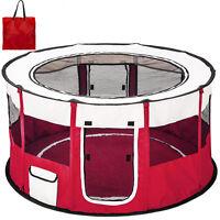 Box per cagnolini cuccioli e piccoli animali cani recinto tenda interno rosso nu