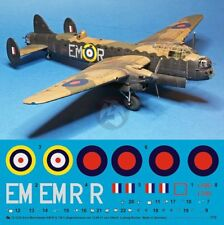 Peddinghaus 1/72 Avro 679 Manchester EM-R Markings Mike Smith Holland 1941 3330