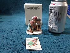 1979 Norman Rockwell Dave Grossman Marbles Players Nr-211