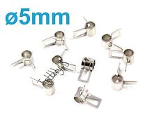20pcs 5mm Metal Fuel Line Tube Clips Clamps, US TH005-02304