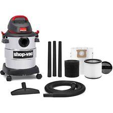 6 Gallon 4.5 Peak HP Stainless Steel Wet/Dry Vac Shop-Vac Household Supplies