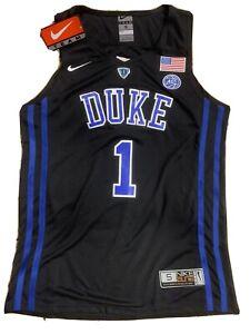 Zion Williamson #1 Duke Blue Devils Black Jersey MENS Size Small NWT -NIKE ELITE