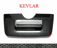 CARBON REAR TAILGATE GATE COVER TRIM FOR NISSAN FRONTIER NAVARA D40 05-13 10 11