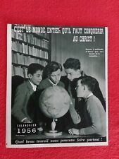 Calendrier SCOUT 1956