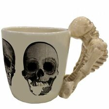 Skeleton Mug Shaped Handle