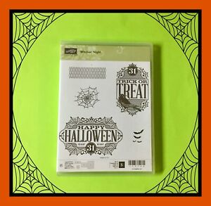 Stampin' Up! WITCHES' NIGHT Stamp Set .........BOO! 🦇 #2