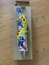 PABST BLUE RIBBON Beer Tap Handle Pizza