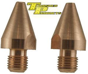 """Spot Welder 1/4"""" Tips 476-040211 for Miller-TT-6, TT-9 and G7 Welding-Tongs"""
