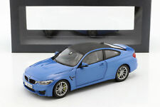 BMW M4 (F82) Coupe Baujahr 2014 blau metallic 1:18 ParagonModels