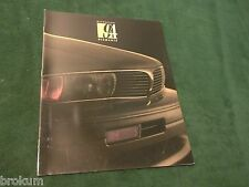 1994 MITSUBISHI DIAMANTE SALES BROCHURE MINT ORIGINAL W/ COLOR CHART (BOX 508)