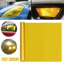 "Universal 12""x60"" Golden Yellow Headlight Tailight Fog light Tint Film Vinyl"