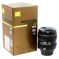 Nikon AF-S DX NIKKOR 16-80mm f/2.8-4E ED VR - UK NEXT DAY DELIVERY