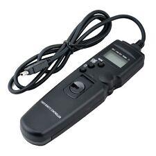 LCD Timer Remote Shutter for Nikon D90 D5000 D3100 D7000 MC-DC2  FREE SHIPPING
