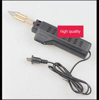 Car Auto Bumper Weld Gun Plastic Repair Tool Kit Staples Pliers 220V Hot Stapler