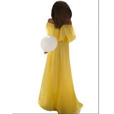 Women Off Shoulder Long Maxi BOHO Evening Party Dress Beach Dresses Sundress HE