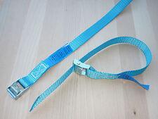8 x Mini-Zurrgurte  Spanngurte Befestigungsriemen Skiträger Fahrradträger  blau
