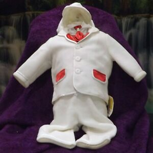 Carpe Diem, Boys 6 piece christening outfit, age 6 to 9 months, NWT