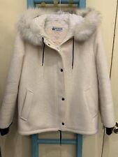 Vintage Hudsons Bay Co Wool Jacket Coat Women Size 10 Blanket EUC