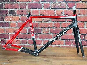 Dolan Seta Track Carbon 54cm Frameset Alpina Fork 700c