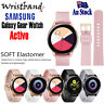 Samsung Galaxy Watch Active Bands Soft Silicone Sports Band Replacement Strap
