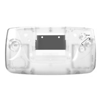 Game Gear Shell Case Sega Clear New Replacement RetroSix ABS