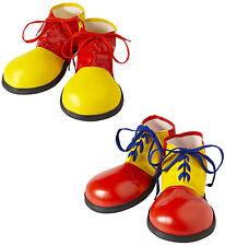 Clown Schuhe für Kinder NEU - Zubehör Accessoire Karneval Fasching