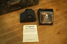 Antique VTG Mamiya CDS Metered Porrofinder Case TLR Film Camera Medium Format