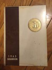1965 Rio Grande College Yearbook - The Grandion - University Of Rio Grande -