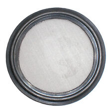 """HFS(R) 6"""" Viton Sanitary Gasket w/ Stainless Screen - Tri Clamp Clover"""
