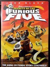 Secrets of the Furious Five (DVD, 2008) WORLDWIDE SHIP AVAIL