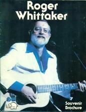 Roger Whittaker 1983 United Statesd Tour Souvenir Program