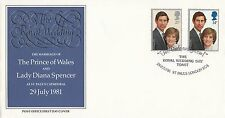 (91189) CLEARANCE GB Cover Princess Diana Wedding Day - St Pauls 29 July 1981