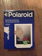 Polaroid Type 55 Instant P/N Sheet Film 4x5 Black White Exp. 06/2001