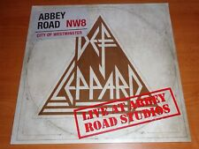 """DEF LEPPARD - LIVE AT ABBEY ROAD STUDIOS - RSD RECORD STORE DAY 2018 - 12"""" EP"""