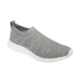 Scholl Free Style Slip On Trainers - Grey
