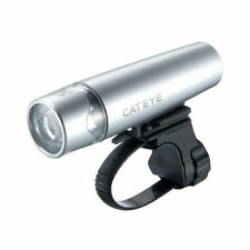 New CatEye Uno Opticube Bicycle Headlight HL-EL010 Silver LED AA Torch Light