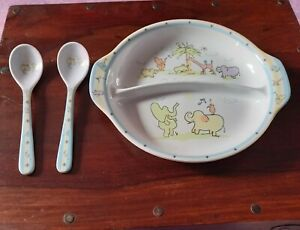 Baby Plate And Spoon Set