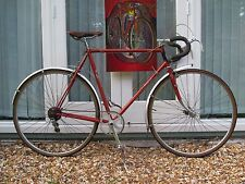 Vintage retro Raleigh Gran Sport Campag 5 speed road racing bicycle Eroica ready
