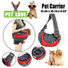 Comfort Pet Dog Handbag Carrier Travel Carry Bags For Small Animals M Gray&Red