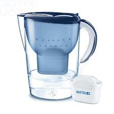 Brita Marella XL Carafe d'eau filtrante et Cartouche +, Bleu