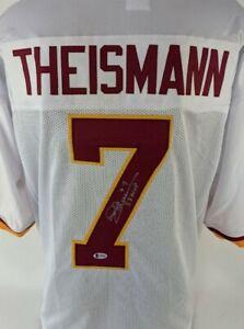 "Joe Theismann ""83 MVP"" Signed Washington Redskins Custom Jersey (Beckett COA)"