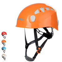 Mountaineering Rock Climbing Tree Arborist Safety Helmet Rescue Gear Equipment