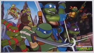 Teenage Mutant Ninja Turtles Exclusive Poster Wondercon 2016 Nickelodeon 9 x 16