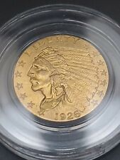 1926 $2.5 American Gold Indian Head Quarter Eagle Liberty Coin Nice Details