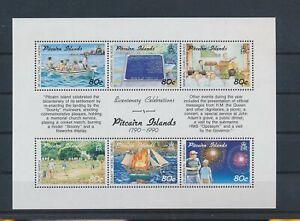 LO43198 Pitcairn Island celebrations good sheet MNH