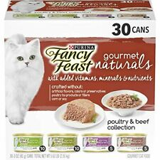 New listing Purina Fancy Feast Natural Wet Cat Food Variety Pack
