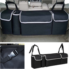2in1 Car Trunk Multi-use Organizer Backseat Storage Bag Oxford Cloth Accessories